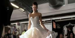 Robe de mariee défilé - salon des futurs mariés Bordeaux 2017