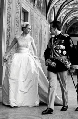 Robe de mariée Grace Kelly