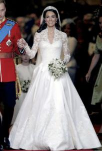 Robe de mariée Kate Middleton