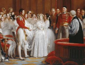 Robe de mariée Reine Victoria