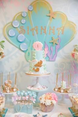 Mermaids Baby Shower1