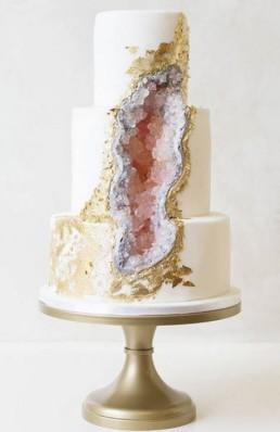 cristal geode cake2