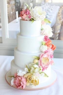 fresh flower cake1