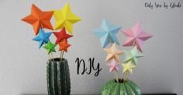 DIY Etoiles 3D Miss Gloubi Noel 11