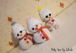 Mes Bonhommes de neige DIY Miss Gloubi10