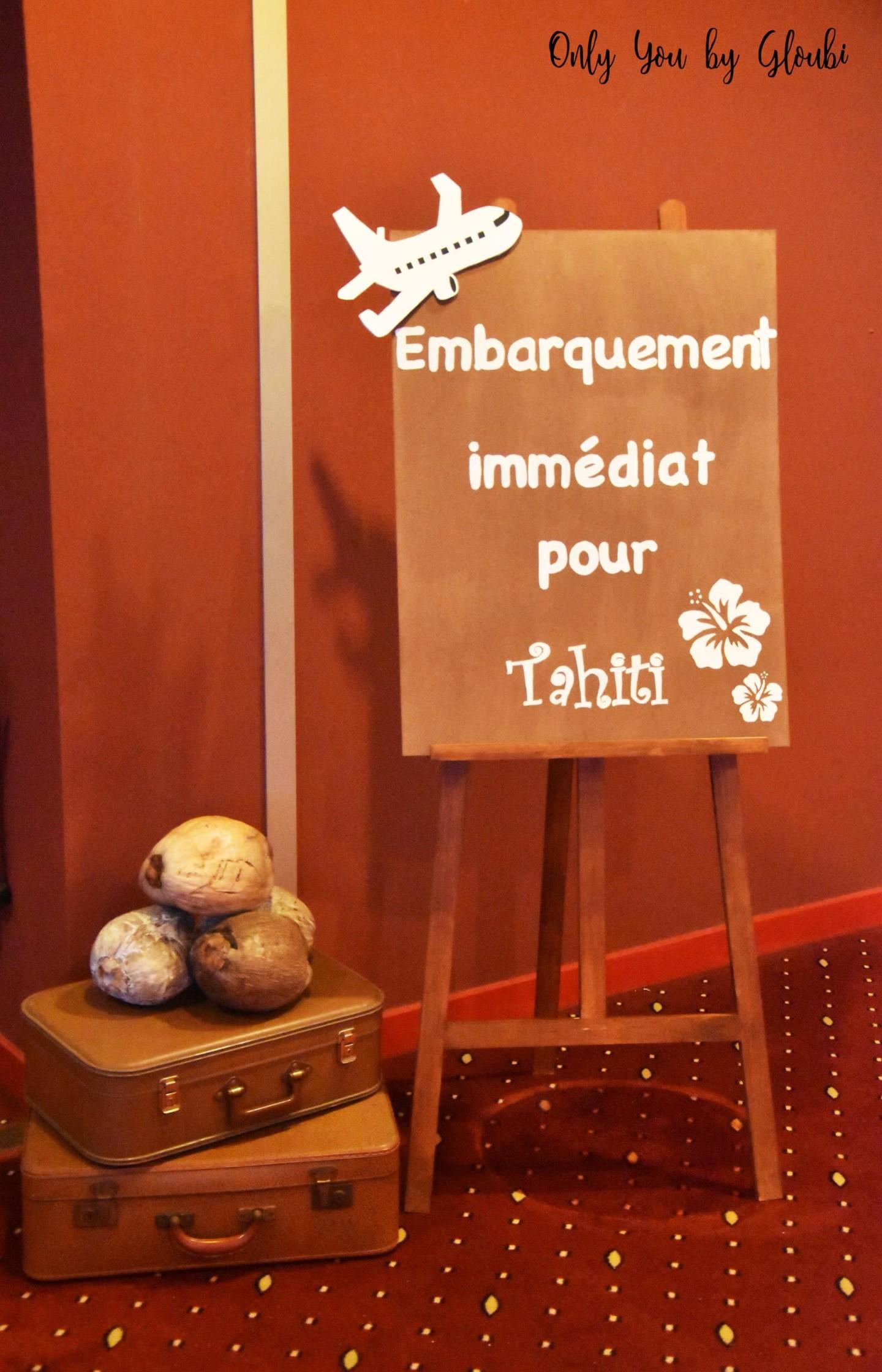 Soirée Tahiti Only You by Gloubi56