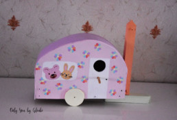 Nichoir DIY Miss Gloubi3