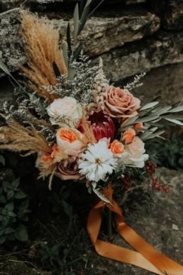 Fleurs séchées mariage5