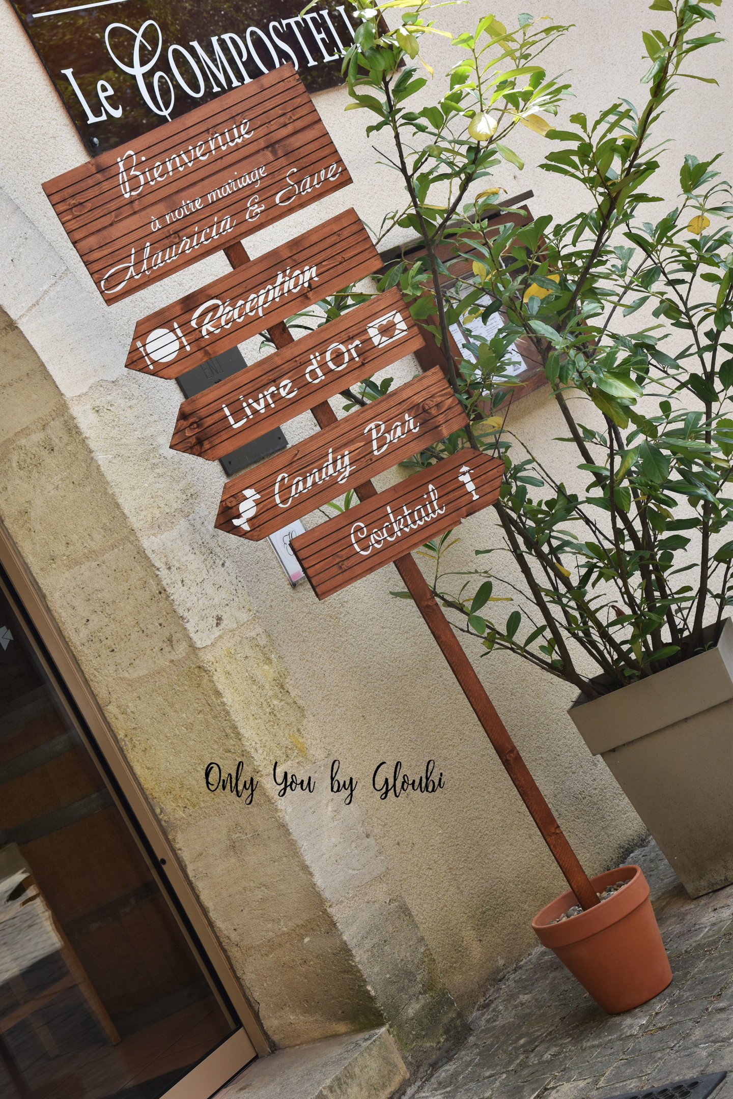 Locations Déco Only You by Gloubi signalétique190