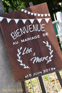 Mariage L&M Champetre Rétro Only You by Gloubi57