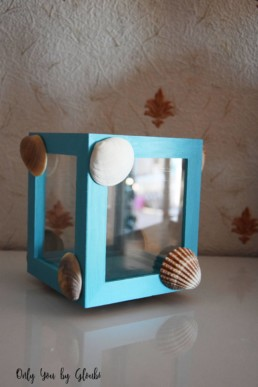 Photophore souvenir de vacances Miss Gloubi DIY18