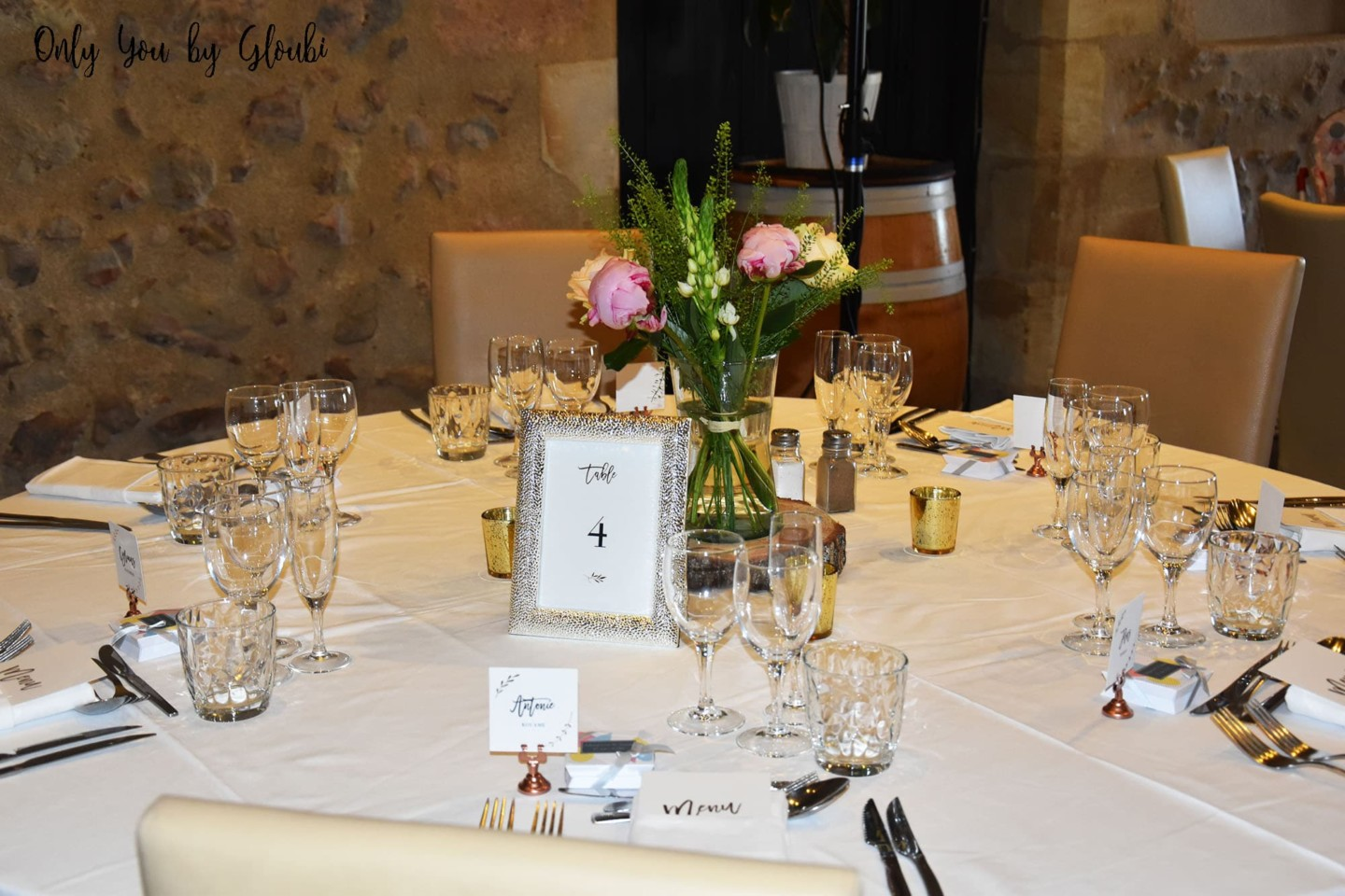 Mariage M&S Chic Elegant Only You by Gloubi 201