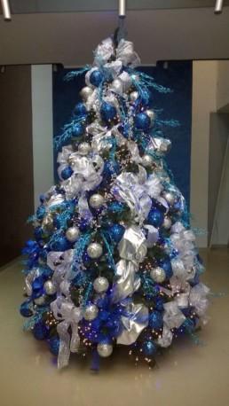 Christmas blue gold silver Miss Gloubi5