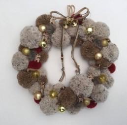Christmas pompon Miss Gloubi2