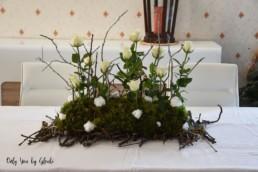 Table de Noel Nature DIY Miss Gloubi22