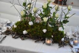 Table de Noel Nature DIY Miss Gloubi30