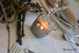 Table de Noel Nature DIY Miss Gloubi45