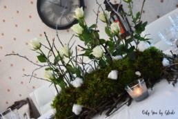 Table de Noel Nature DIY Miss Gloubi56