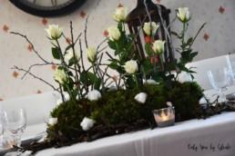 Table de Noel Nature DIY Miss Gloubi64