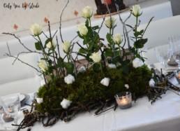 Table de Noel Nature DIY Miss Gloubi72
