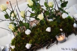 Table de Noel Nature DIY Miss Gloubi79