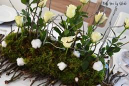 Table de Noel Nature DIY Miss Gloubi80