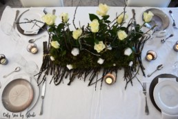 Table de Noel Nature DIY Miss Gloubi83