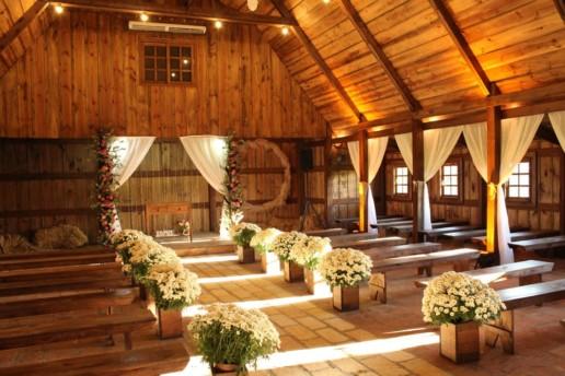 Wedding in farm