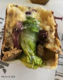 Tacos au poulet sauce formagère Miss Gloubi17