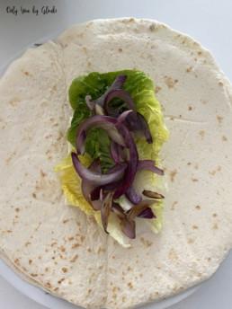Tacos au poulet sauce formagère Miss Gloubi7