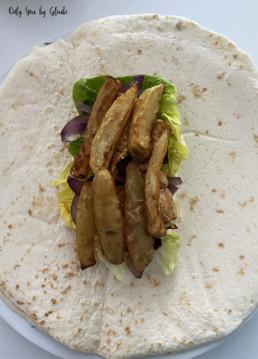 Tacos au poulet sauce formagère Miss Gloubi9