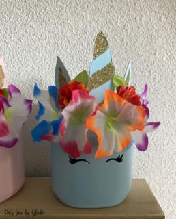 Pot licorne DIY Miss Gloubi10