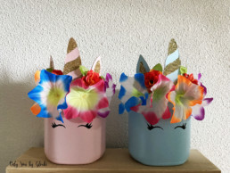 Pot licorne DIY Miss Gloubi11