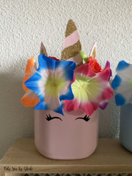 Pot licorne DIY Miss Gloubi13