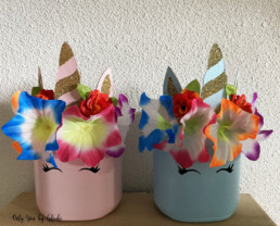 Pot licorne DIY Miss Gloubi7